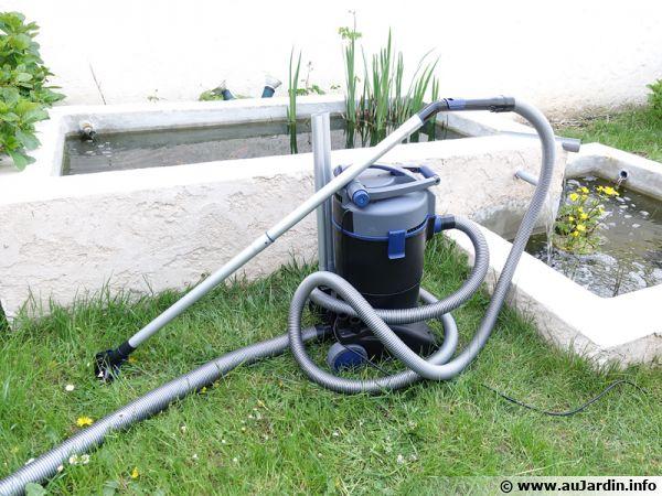 aspirateur a bassin