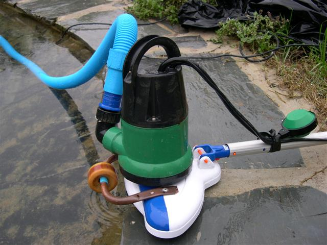 aspirateur etang