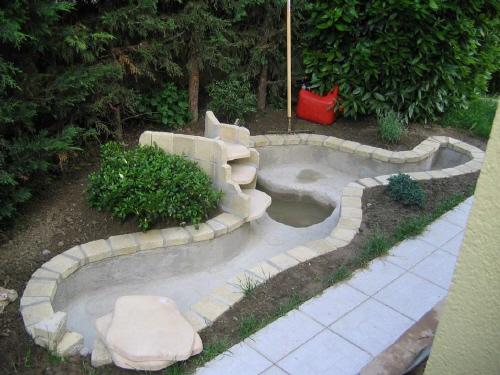bache pour bassin de jardin