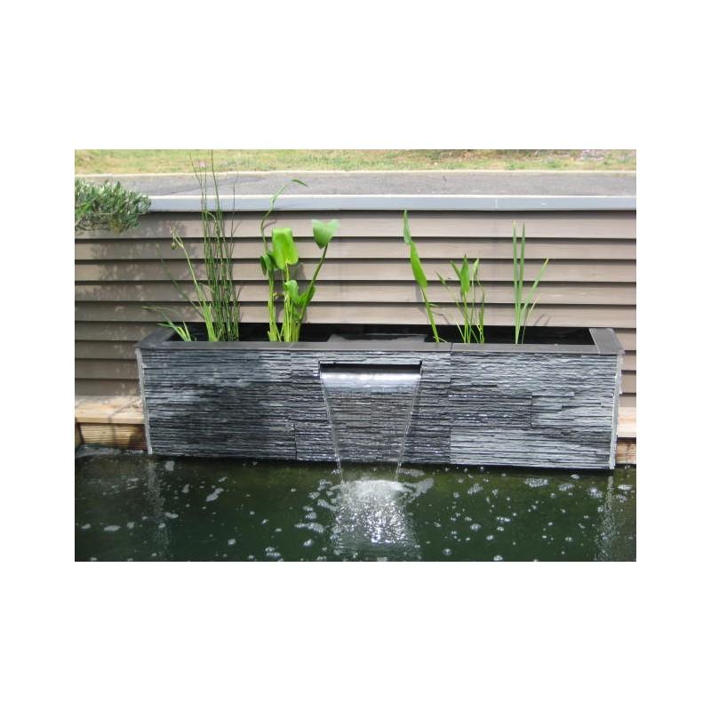 bassin avec lame d'eau