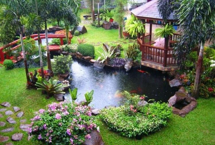 bassin d'ornement pour jardin