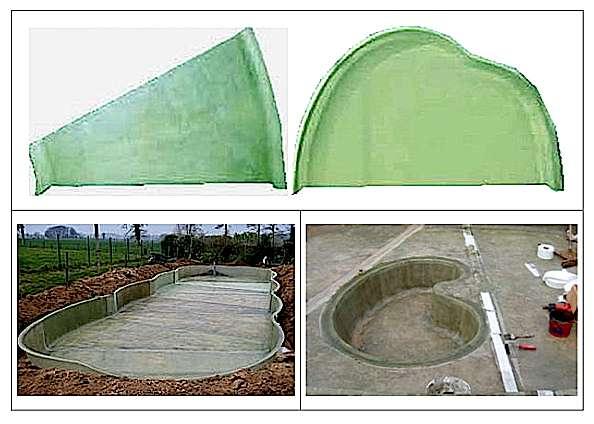 bassin de jardin en fibre de verre - Materiel de bassins