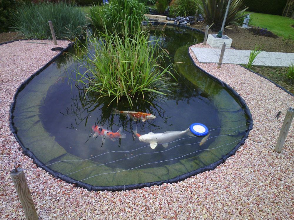 bassin de jardin preforme 10000 litres - Materiel de bassins