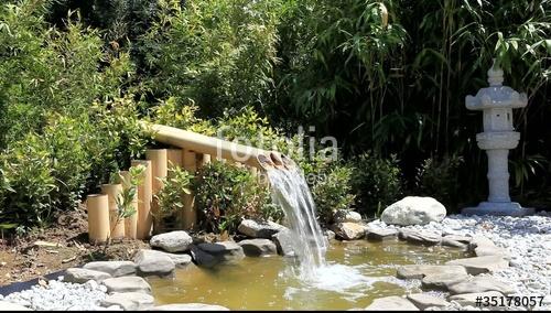 cascade bambou