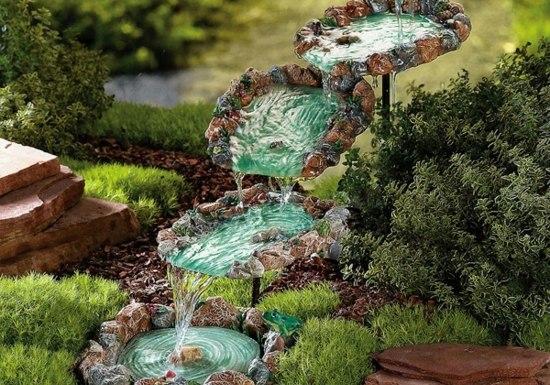 decoration bassin aquatique
