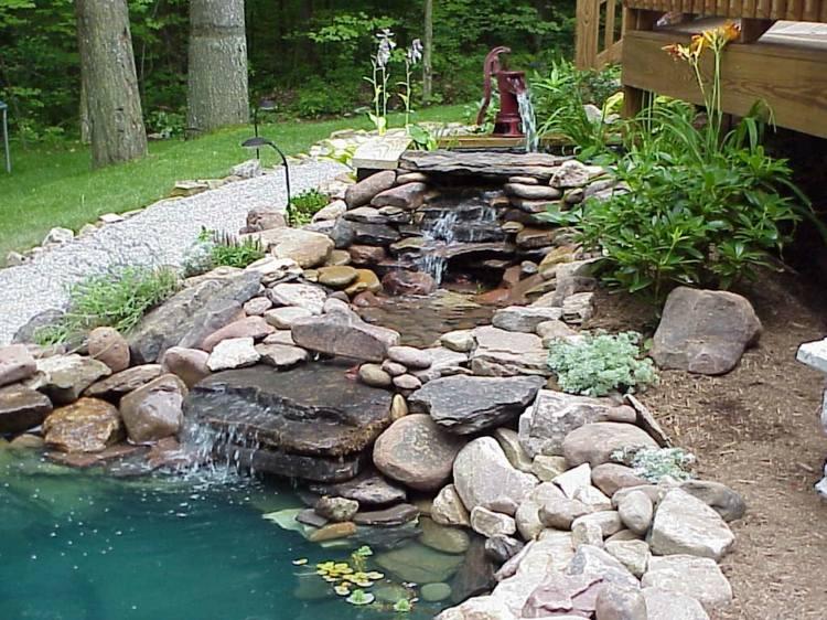 decoration de bassin exterieur