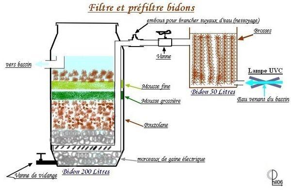 filtration d un bassin