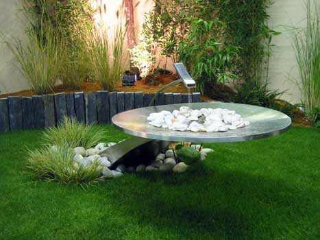 fontaines et bassins de jardin