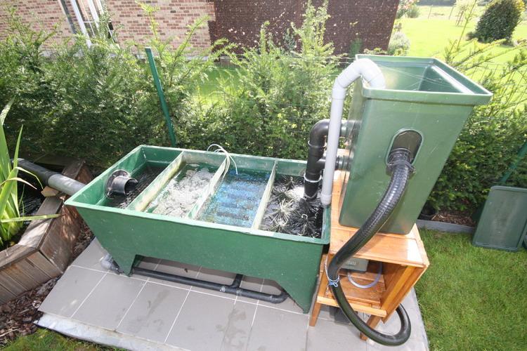 jardin filtre bassin materiel de bassins