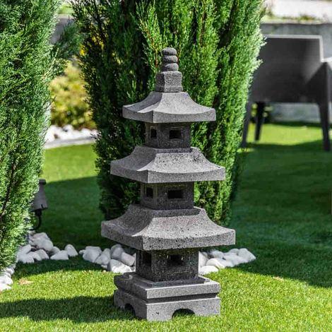 lanterne japonaise en pierre