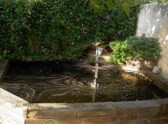 materiel pour bassin d'ornement