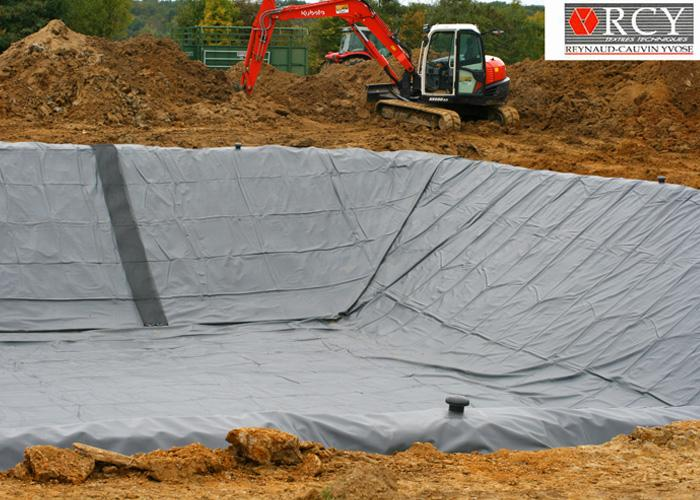 membrane geotextile pour bassin