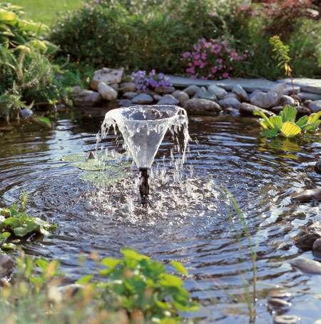 pompe bassin de jardin