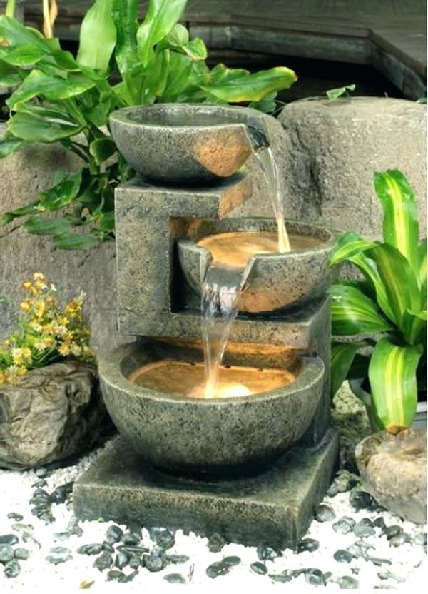 pompe pour fontaine exterieure de jardin