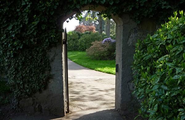 porte ouverte des jardins