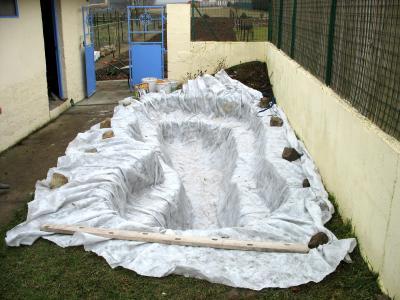 tissu geotextile